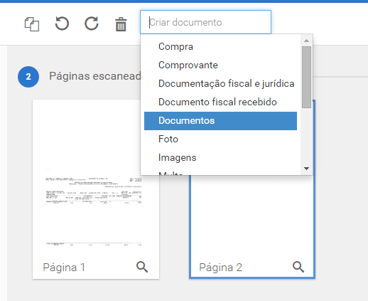 Documentos avulsos
