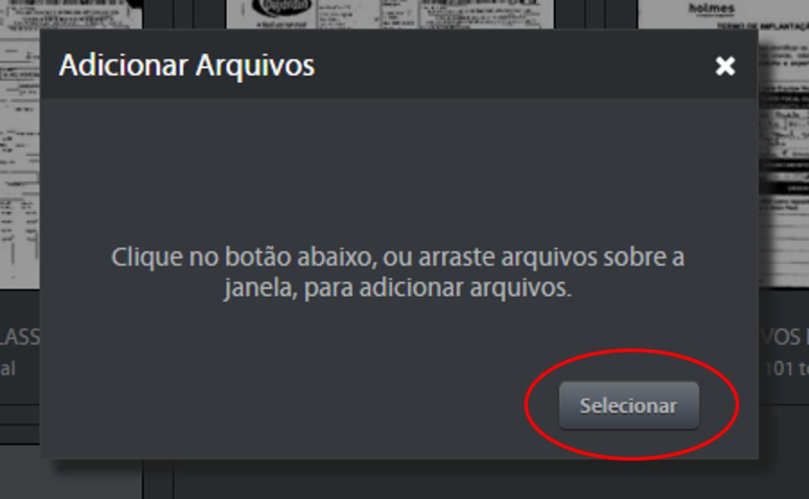 adicionar arquivos